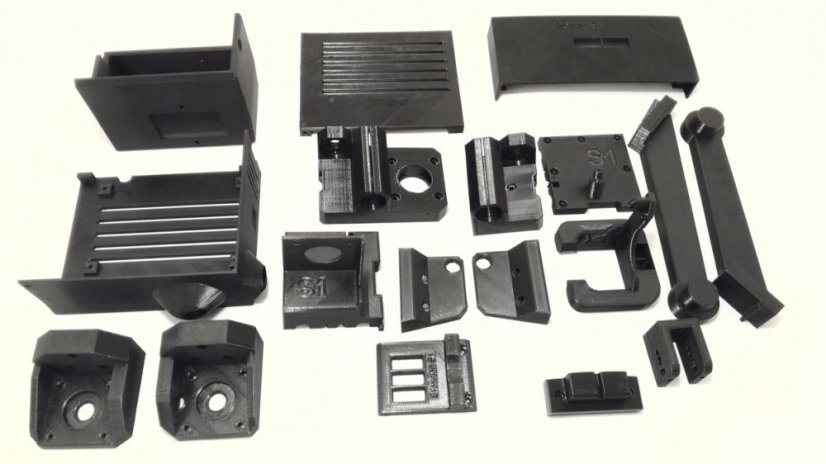 Set of printed parts for 3D printer Evolution S1