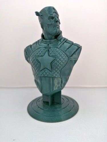 FILAMENT 1,75 PLA - METALIC GREEN 1 KG