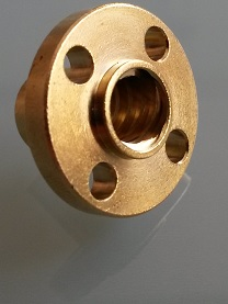 Lead screw 2 pieces - Type of trapezoidal nut: Trapezoidal nut
